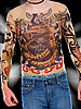 "infactory Tattoo-Shirt ""Tribal & Dragon"", bunt infactory Tattoo-Shirts"
