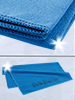 PEARL Extra saugf�higes Mikrofaser-Handtuch 80 x 40 cm, blau PEARL Mikrofaser Handt�cher