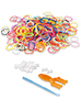 Playtastic Gummibänder-Set, Nachfüllpack, 614 Teile Playtastic Loom Band Sets