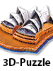 "Playtastic Faszinierendes 3D-Puzzle ""Opera House"" in Sydney, 58 Puzzle-Teile Playtastic 3D-Puzzles"