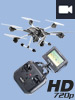 Simulus Hexacopter GH-60.clv mit Kamera, Fernbedienung, Live-View Simulus Hexacopter mit LIVE-Video�bertragung