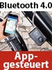 Semptec Urban Survival Technology App-gesteuertes Bluetooth-Kabelschloss, Alarm für Fahrrad, Tür u.v.m. Semptec Urban Survival Technology Bluetooth-Kabelschlösser