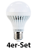 Luminea LED-Lampe, 7W, E27, 5400K, wei�, 420 lm, 180�, 4er-Set Luminea LED Leuchtmittel E27 (wei�)