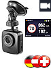 7000 GPS-POI-Warner mit Super-HD-Dashcam für D/A/CH POI Pilot 7000 Fahr-Assistent: POI-Warner & HD-Dashcams