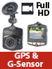 "NavGear Full-HD-Dashcam MDV-2750 mit G-Sensor, 2,3""-Display (5,8 cm) NavGear"