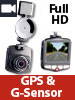 "NavGear Full-HD-Dashcam MDV-2770.gps mit GPS & G-Sensor, 5,8-cm-Display (2,3"") NavGear Dashcams mit G-Sensor und GPS (Full HD)"