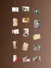 Your Design Magnetische Foto-Leine mit 8 Mini-Magneten, 3er-Set Your Design