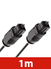 auvisio Optisches Audio-Kabel Toslink Stecker-Stecker 1m auvisio Optische Kabel (Toslink)
