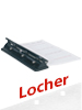 General Office Verstellbarer Vierfach-Organizer-Locher aus Metall, DIN A4 General Office Verstellbare Organizer-Locher, vierfach