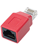 Fibrionic Network Solutions Netzwerkkabel-Crossover-Adapter CAT5 Fibrionic Network Solutions