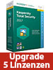 Kaspersky Internet Security 2017 Upgrade - 5 Lizenzen (PC / Mac) Kaspersky Internet & PC-Security (PC-Softwares)