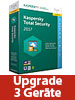Kaspersky Total Security 2017 Upgrade - für 3 Geräte (PC/Mac/Android/iOS) Kaspersky Internet & PC-Security (PC-Software)