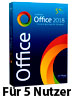 SoftMaker Office 2018 Home & Business für Windows (für 5 Privat-PCs) SoftMaker Office-Pakete (PC-Softwares)