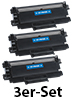 iColor Toner TN2220, black, kompatibel zu Brother MFC-7360N u.v.m., 3er-Set iColor Kompatible Toner Cartridges für Brother Laserdrucker