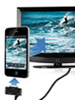 auvisio HDMI-Video-Adapter iPhone/iPad an LCD-TV/Beamer, Full HD auvisio Video-Übertragungen (Dock-Connector)