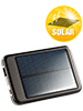 revolt Solar-Powerbank mit 4400 mAh f�r iPad, iPhone, Navi, Smartphone revolt USB Solar Powerbanks