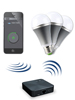 "CASAcontrol WiFi-Beleuchtungs-System ""Weiß"" inkl. 3 LED-Lampen, E27 CASAcontrol WiFi-Lampen Starter-Sets"