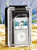Q-Sonic MP3-Strandbox mit Aktiv-Lautsprecher f�r iPod & MP3-Player Q-Sonic