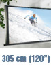 "SceneLights Faltbare Leinwand ""Cinema"" 305 cm (120"") (refurbished) SceneLights"