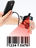 simvalley MOBILE Profi-Barcode-Finger-Scanner für Android-Smartphones (USB OTG) simvalley MOBILE