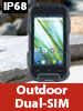 "simvalley MOBILE Outdoor-Smartphone SPT-900 V2, 4"", Android 4.4, IP68 simvalley MOBILE Android Outdoor-Smartphones"