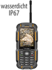 simvalley MOBILE Dual-SIM-Outdoor-Handy und Walkie-Talkie XT-980 simvalley MOBILE Dual-SIM Outdoor-Handys