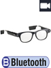 simvalley MOBILE Smart Glasses SG-101.bt mit Bluetooth und 720p HD simvalley MOBILE
