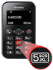 simvalley MOBILE Scheckkarten-Handy Pico RX-484 mit BT, Garantruf simvalley MOBILE