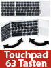 GeneralKeys Faltbare Bluetooth-Tastatur mit Touchpad für Android, iOS und Windows GeneralKeys Bluetooth-Tastatur mit Touchpads für Android, iOS & Windows