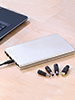 revolt Powerbank mit 35.000 mAh f�r Notebook & Co, im Aluminiumgeh�use revolt Notebook- & USB-Powerbanks