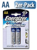 Energizer Lithium-Batterie Ultimate Mignon AA 1,5 Volt im 2er-Pack Energizer Lithium-Batterien