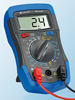 "Digitales Multimeter ""HP-33D"" mit Data-Hold, Stoßschutz und Messkabeln Digital Multimeter"