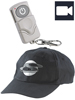 OctaCam Baseball-Cap BC-400 mit Video-Kamera & Fernbedienung, 4GB OctaCam