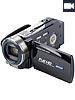 Somikon Full HD Camcorder DV-883.IR mit Infrarot-LED, HDMI, 60fps Somikon Full-HD Camcorder