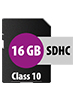 SecureDigital SD-Speicherkarte 16 GB (SDHC) Class 10 SD-Speicherkarten