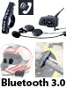 Callstel Motorrad-Intercom-Headset mit Bluetooth, 1 km Reichweite (refurbished) Callstel Bluetooth-Intercom-Headsets für den Motorradhelme