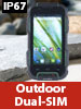 simvalley MOBILE Outdoor-Smartphone SPT-900, IP67 (refurbished) simvalley MOBILE Android-Outdoor-Smartphones