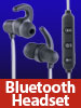 auvisio In-Ear-Headset mit Bluetooth, Fernbedienung & patentiertem Soundsystem auvisio Bluetooth-Kopfhörer und -Headsets (In-Ear)