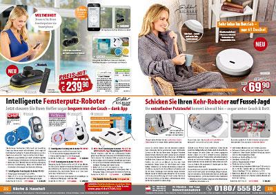 sichler haushaltsger te intelligenter fensterputz roboter pr 025. Black Bedroom Furniture Sets. Home Design Ideas