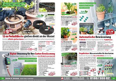 royal gardineer pflanzen bew sserungssystem mit tonspitze. Black Bedroom Furniture Sets. Home Design Ideas