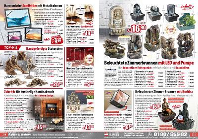 infactory springbrunnen beleuchteter zimmerbrunnen alpenfels mit led und pumpe zimmerbrunnen. Black Bedroom Furniture Sets. Home Design Ideas