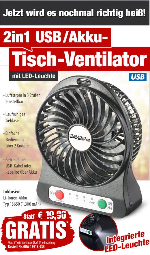 gratis statt 19 90 eur 2in1 usb akku tisch ventilator mit led leuchte. Black Bedroom Furniture Sets. Home Design Ideas