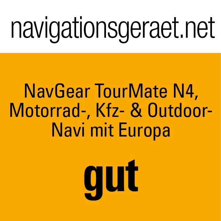 navgear tourmate n4 motorrad kfz outdoor navi mit europa. Black Bedroom Furniture Sets. Home Design Ideas