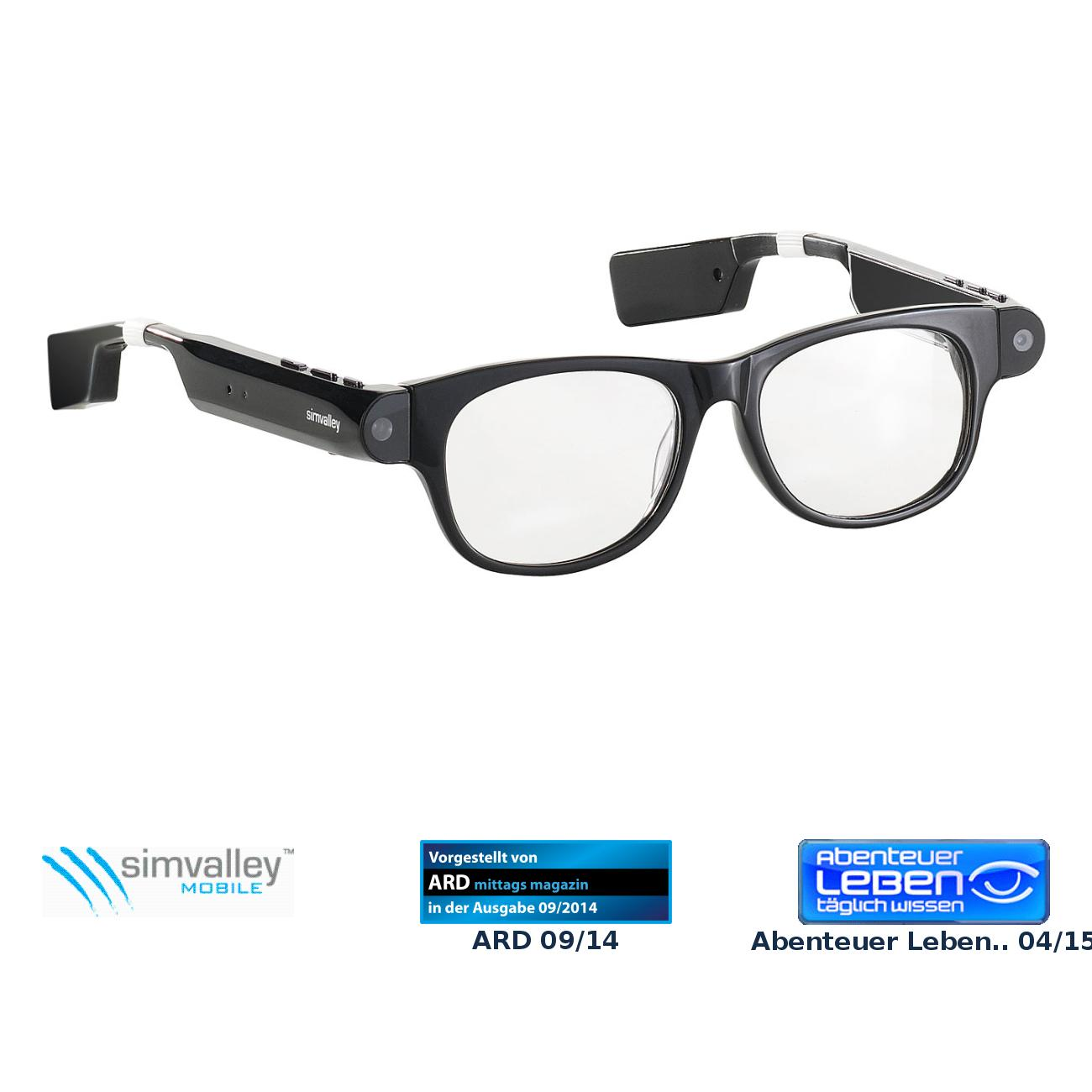 Smart Glasses SG-101.bt mit Bluetooth und 720p HD